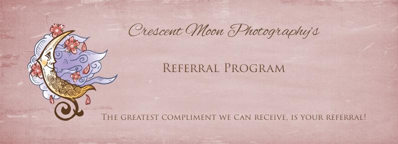 referral program crescent moon photography
